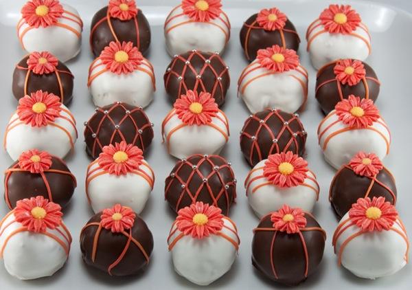 cake balls. Daisy Cake Balls