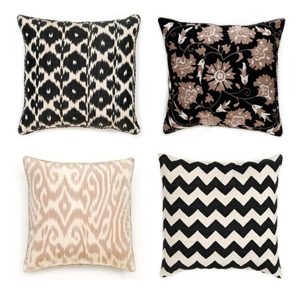 Black & Tan Pillows-Style Notes