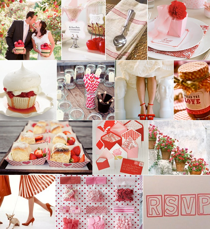 Strawberry Shortcake-Red-White-Inspiration Board-Camille-Styles