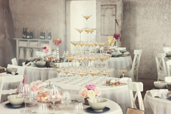 Champagne Glasses-Lo Bjulrulf-Camille Styles Events