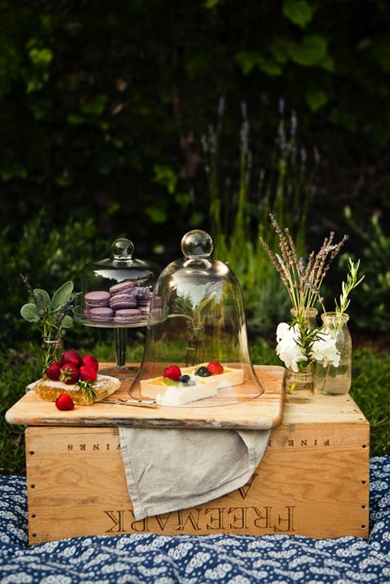 Dessert Bar-Design Sponge-Provencal Picnic-Camille Styles Events