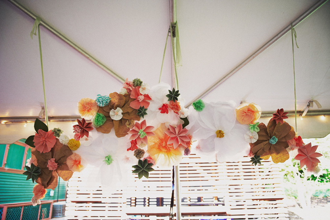 Flower Garlands--Project Wedding-Ashley Garlands-Camille Styles Events