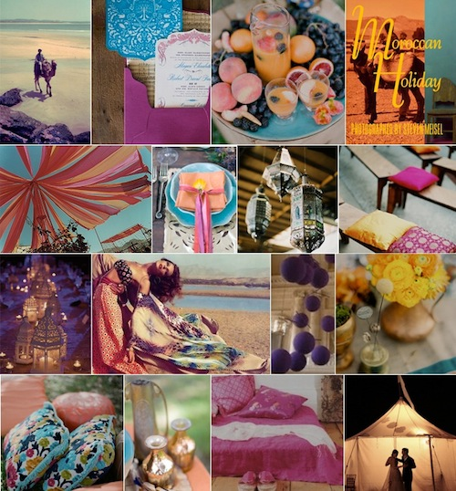 Moroccan Holiday Inspiration BoardCamille Styles Events