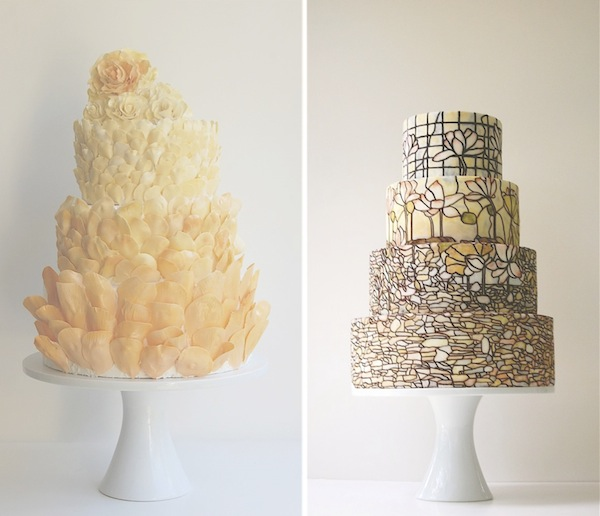 Yellow Petals Cake-Magpie's Cake-Camille Styles Events