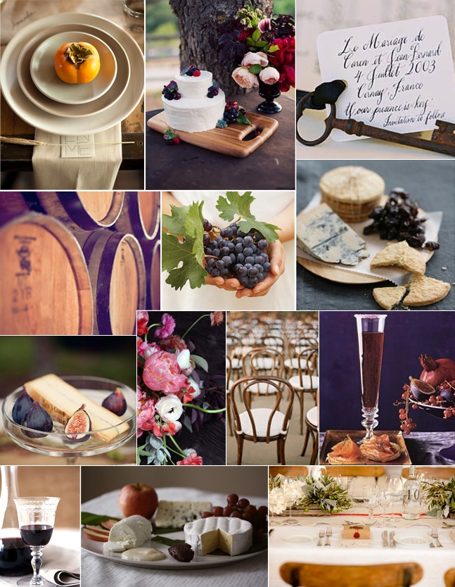Autumn in the vineyard on coco kelley camille styles - Bridal shower theme ideas for fall ...