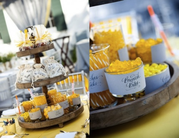 Candy Buffet-Halloween Wedding-The Sweetest Occasion-Camille Styles Events