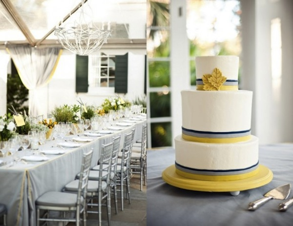 Communal Table & Cake-Halloween Wedding- The Sweetest Occasion- Camille Styles Events
