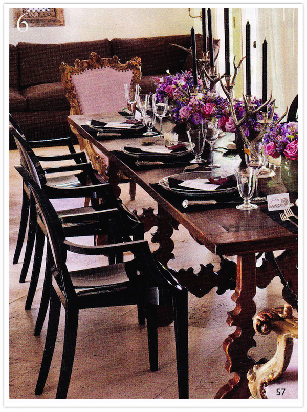 Pink-Purple-Table Setting-2-Camille Styles Events & Black Magic - Camille Styles