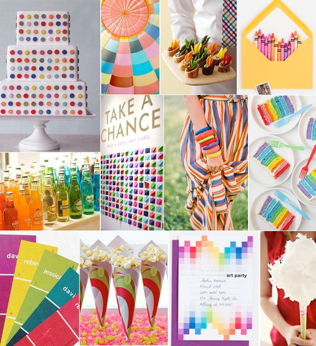 Pop Art Inspiration Board-Camille Styles Events