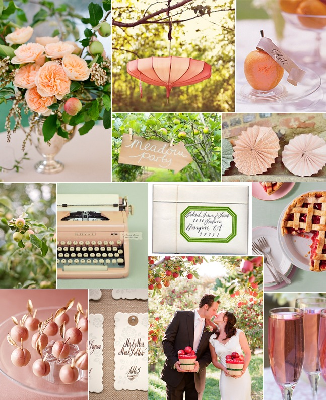Apple Blossom Inspiration Board-Camille Styles Events