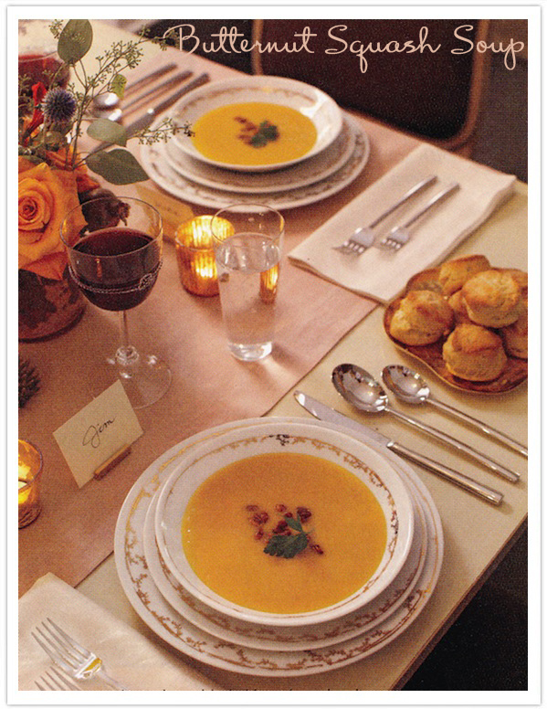 Best Thanksgiving Recipes-Butternut Squash Soup-Camille Styles