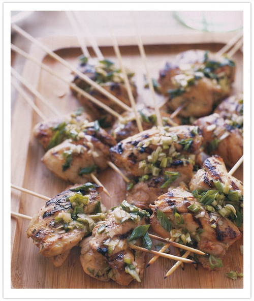 ginger-soy skewers-camille styles events