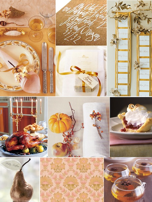 Rose Gold Thanksgiving Inspiration Board-coco+kelley-Camille Styles