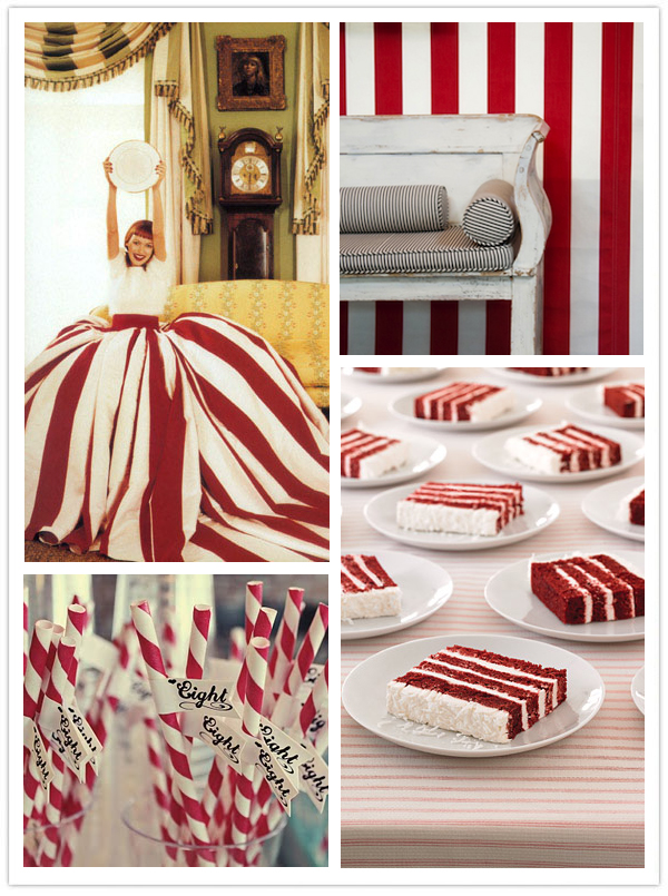 Candy Stripe Inspiration Board-Camille Styles