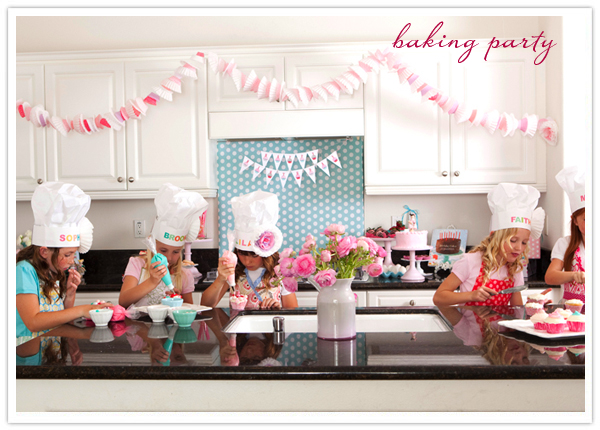 Kids Baking Birthday Party-Amy Atlas
